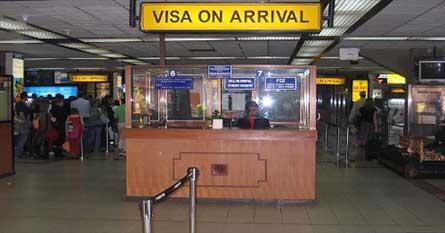 e-Visa On Arrival