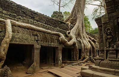 Angkor temples without the crowds