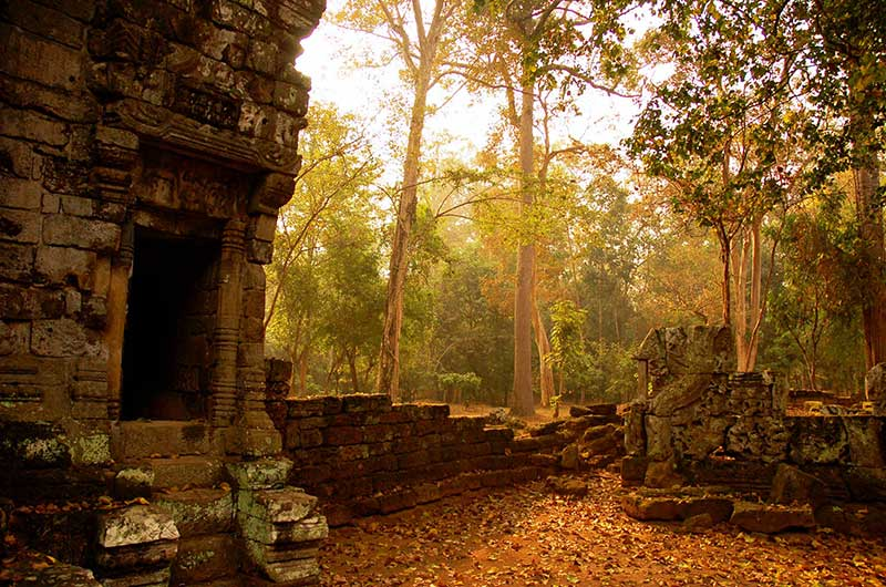 Angkor Without Crowds