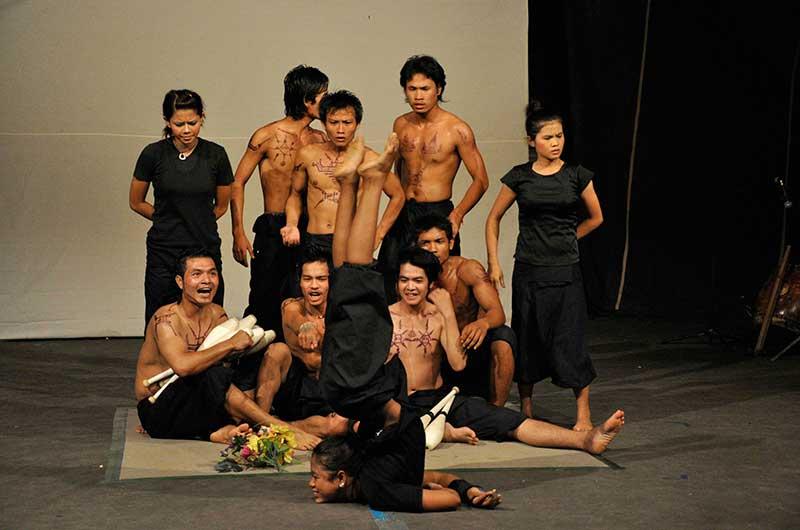 The Battambang Circus