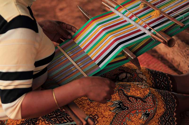 Ratanakiri Traditional Weaving