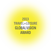 Global Vision Award 2013 Travel + Leisure