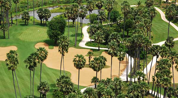 Angkor Golf Resort - Hole 3