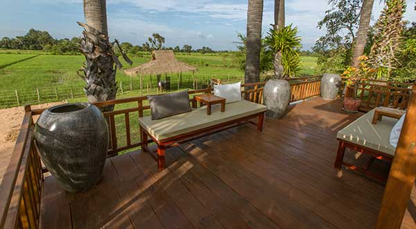 ABOUTAsia's Country Villa veranda