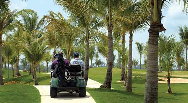 Golf Buggy at Phokeethra Golf Club