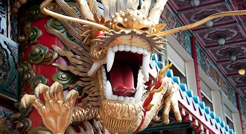 Hong Kong culture dragon