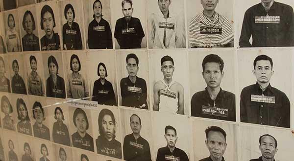 Tragic history S-21 Khmer Rouge