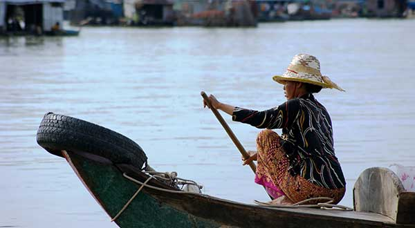 Local life Tonle Sap