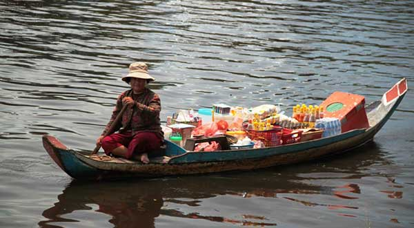 Lifestyle on the Tonle Sap