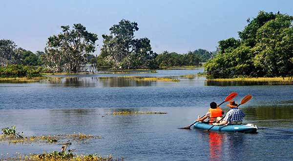 Kayaking the great Tonle Sap Lake