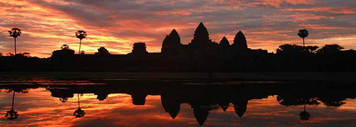 Angkor Wat temple cambodia - around 40km from Siem Reap