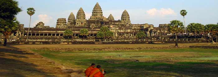 Angkor Wat temple without the crowds, Cambodia