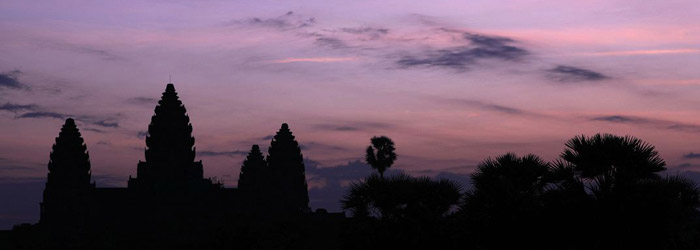 Angkor Wat temple in Siem Reap, the wonder of Cambodia