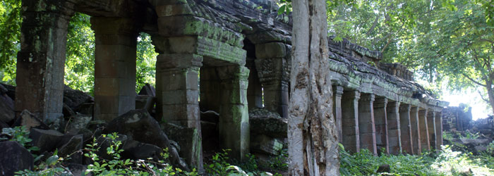 banteay chhmar - angkor temple near sisophon, cambodia