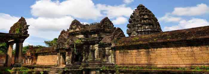 Banteay Samre temple cambodia - around 18km from Siem Reap