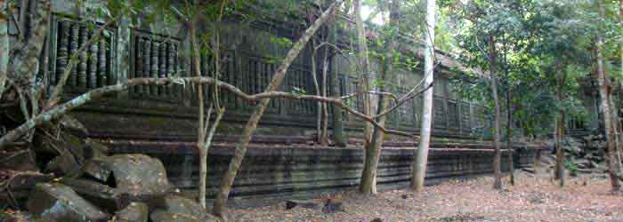 Beng Mealea temple Cambodia - around 40km from Siem Reap