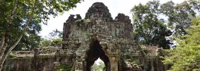 East Death Gate, Cambodia - around 12km from Siem Reap
