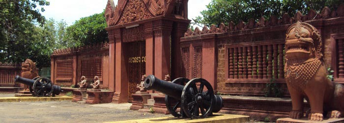 French colonial architecture in Battambang