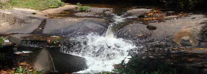 Kbal Spean - the river of the thousand lingas in Cambodia