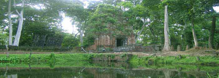 Koh Ker, one of the Angkor temples in Siem Reap, Cambodia