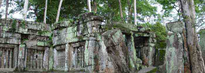 Koh Ker temple in Cambodia.