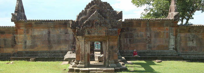 Preah Vihear - one of the most spectacular temples in Cambodia
