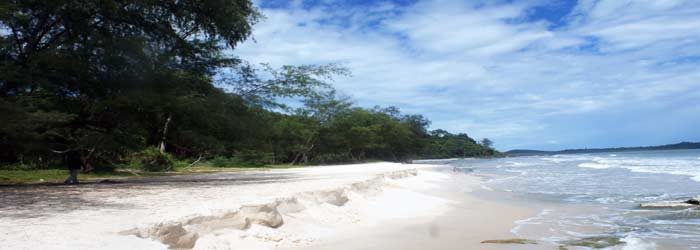 Ream National Park in Cambodia