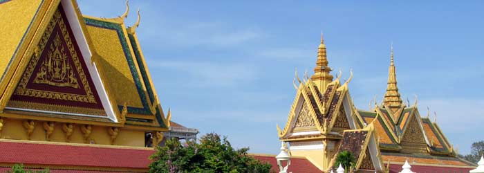 royal palace, phnom penh, cambodge