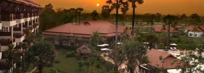 Angkor Palace Resort in Siem Reap