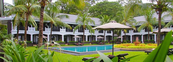Royal Bay Inn pool - luxury hotel in siem reap