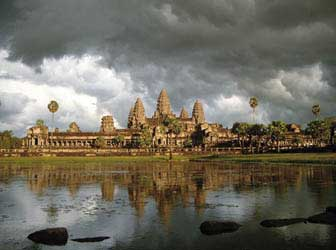 Angkor Wat in the Wet season