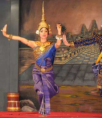 Cambodian dance - apsara dancer