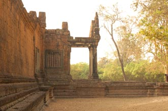 Banteay Samre temple. Travel around 18km from Siem Reap, Cambodia