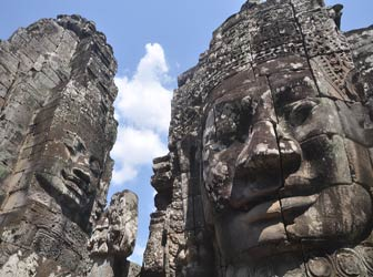Siem Reap Vacation - bayon faces