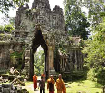 East Death Gate, Cambodia.