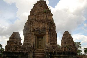 East Mebon temple. One of the Twin temples, Cambodia