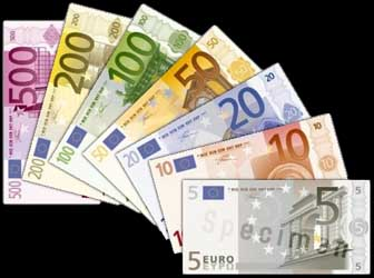 Euros can be used in Cambodia