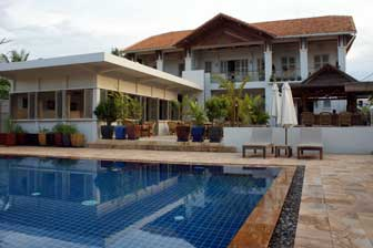 Bambu Boutique resort in Battambang, Cambodia