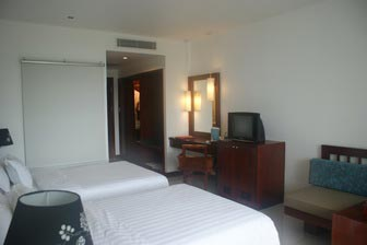 The Independence hotel in Sihanoukville, Cambodia