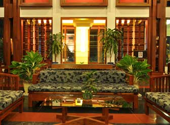 Royal empire hotel, siem reap - lobby