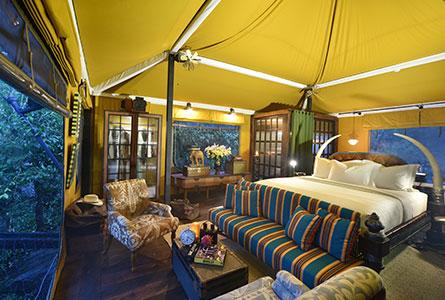 Shinta Mani Wild bed room