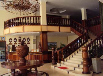 Stung Sangke Hotel Lobby, in Battambang
