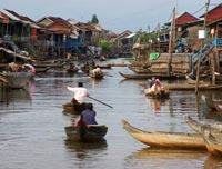 circuit cambodge - kompong khleang, tonle sap, le lac tonle sap