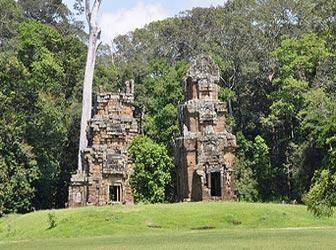 Prasats Suor Prat in Siem Reap, Cambodia