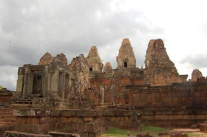 Pre Rup, One of the Twin temples in Angkor, Cambodia