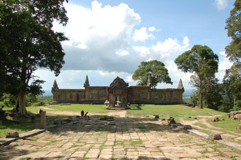 Preah Vihear - the most spectacular setting in Cambodia