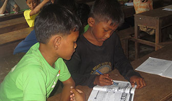 Reading Students in Classroom