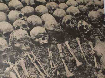 The Khmer Rouge an estimated 2 million Cambodians.