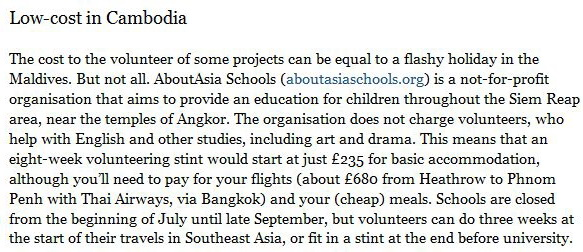 the sunday times review aboutasia schools