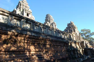 Ta Keo temple. The unfinished mountain temple, Cambodia